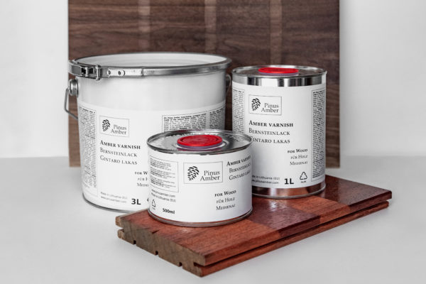 Product image Amber varnish for wood